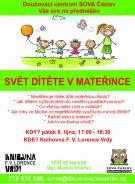 přednáška: Svět dítěte v mateřince 1